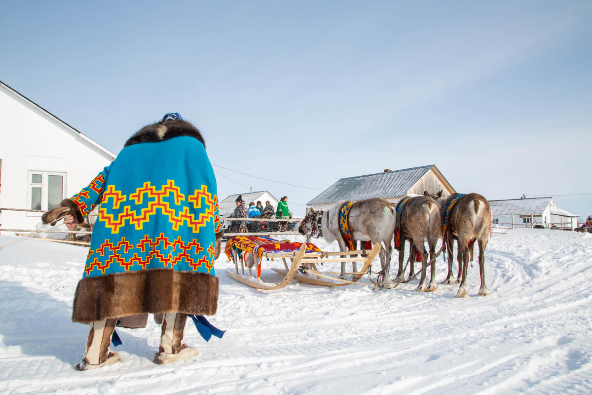 Indigenous People Oppose Oil Drilling on Reindeer Herder Day in Siberia