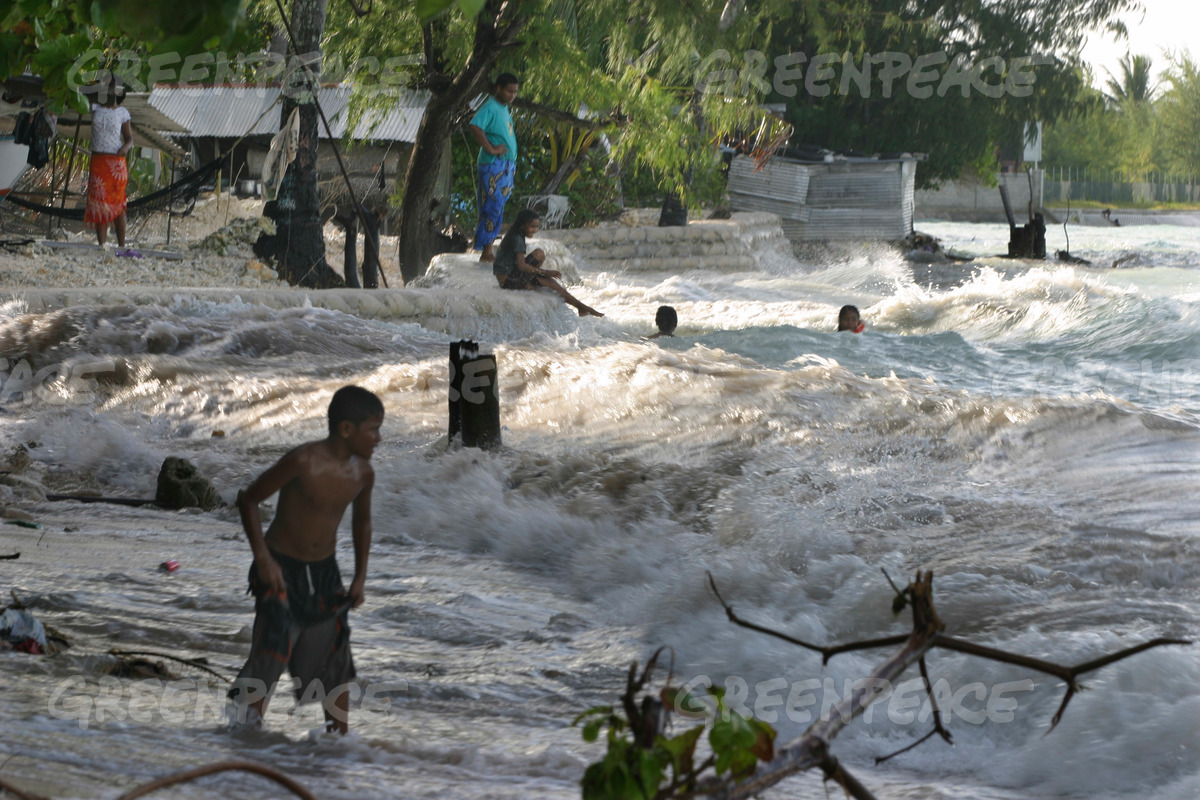 Kiribati King Tides Flooding Documentation