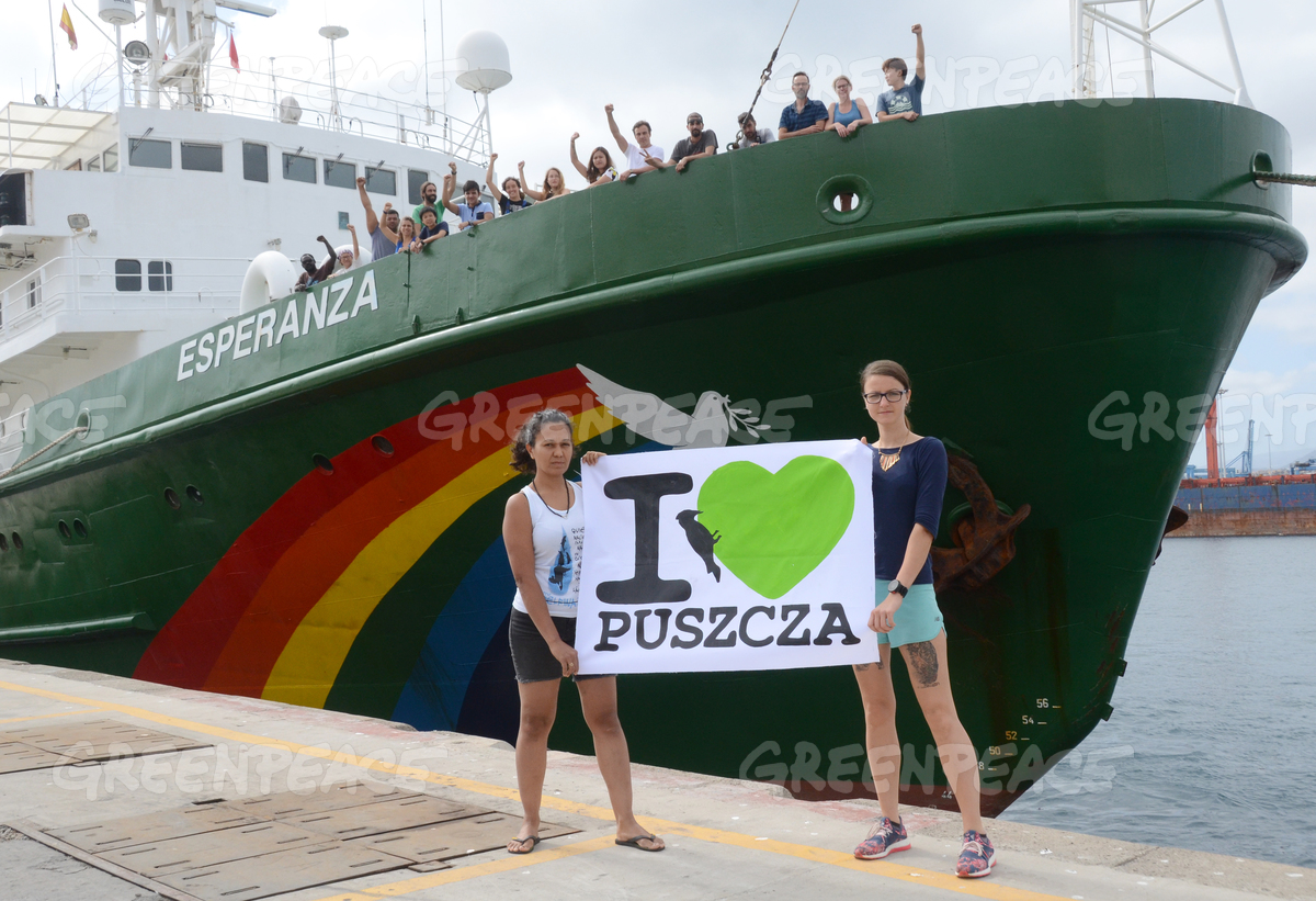 Esperanza in Las Palmas Supports Bialowieza Forest