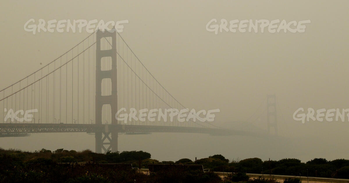 California Wildfire Smoke Obscures San Francisco
