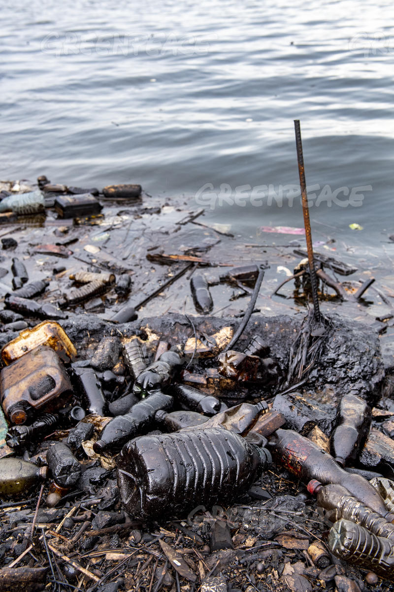 Plastic and Oil Pollution in Havana Harbour