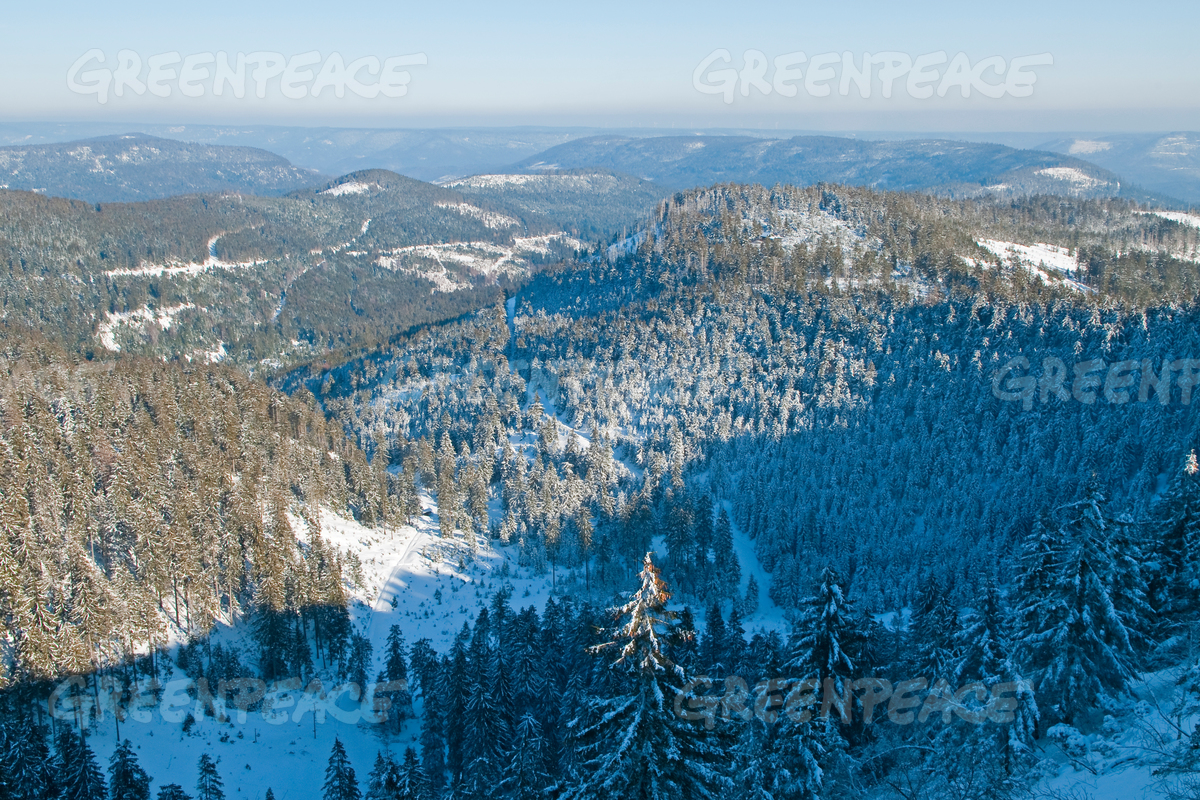 Mountains in Black Forest