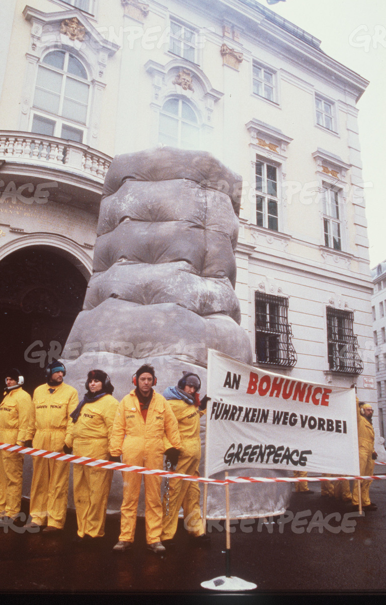 Nuclear Blockade of Chancellery in Vienna