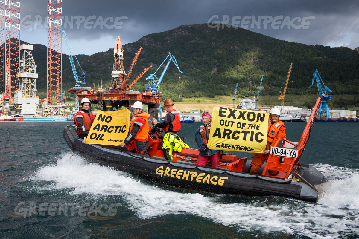 Action in Norway against Exxon Mobil in the Arctic