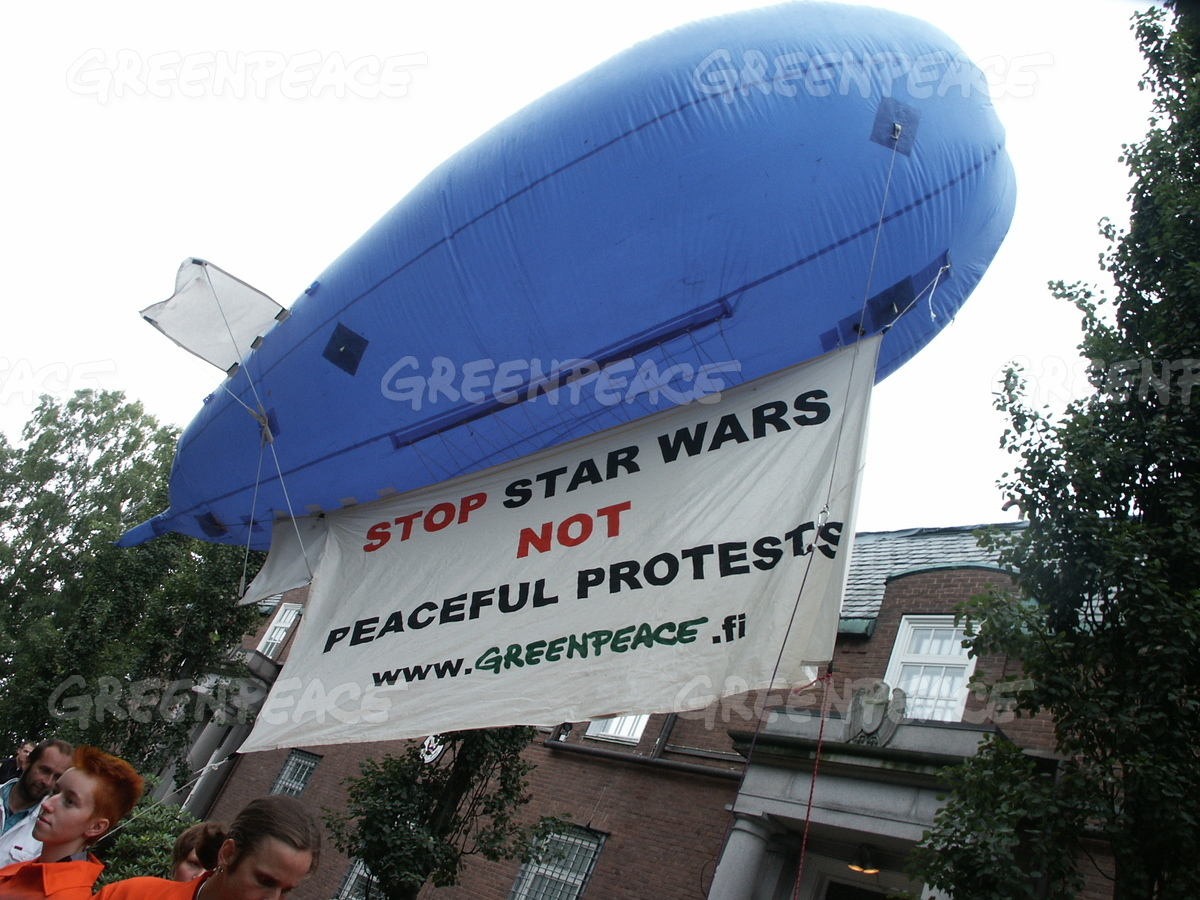 Nuclear Demonstration against Star Wars in Finland