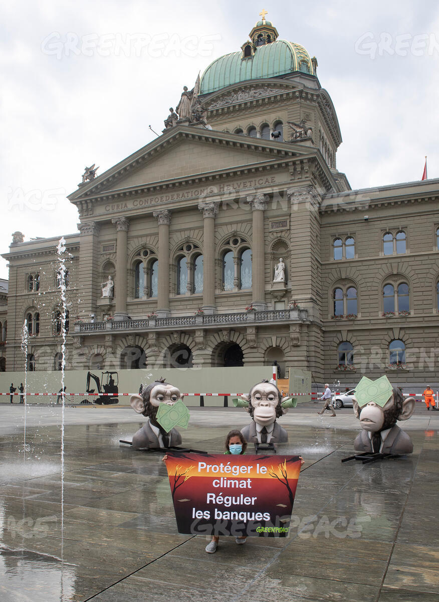 Action against the Swiss Financial Sector Regulators for Climate Inaction