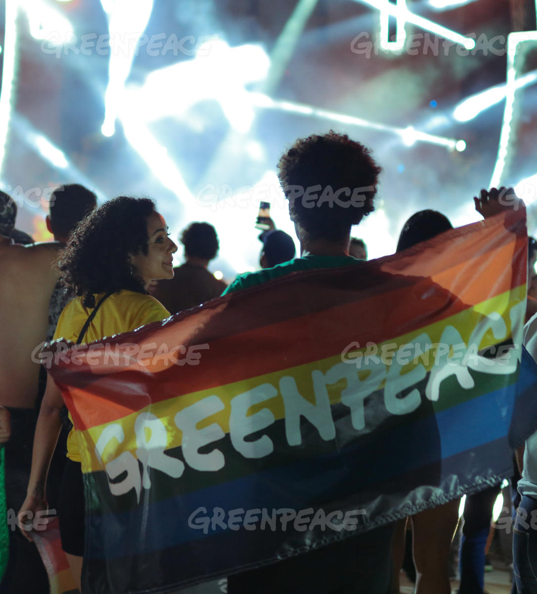 Greenpeace Brazil Joins the Amazon-themed LGBT Party in Sao Paulo