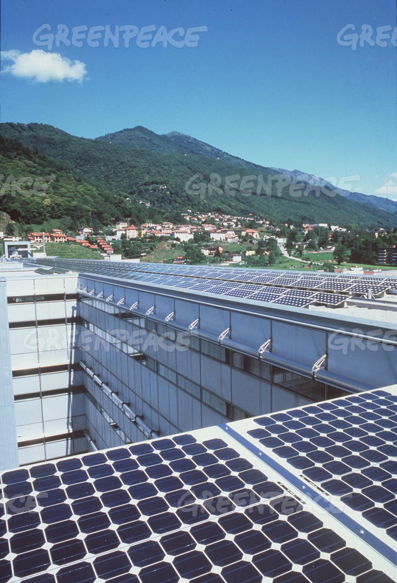 217 KW PV Generating Plant on UBS