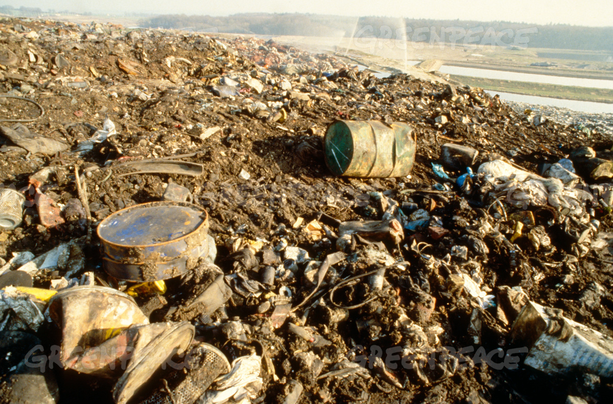 Garbage Dump at Schonberg, East Germany
