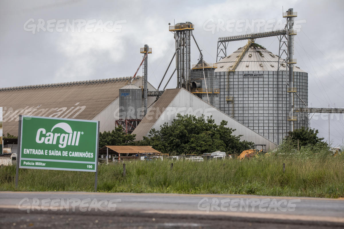 Soybean Processing Factory in Luís Eduardo Magalhães, Bahia State, Brazil