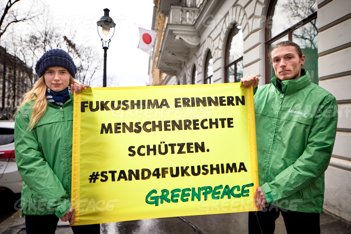 Stand4Fukushima Protest in Vienna