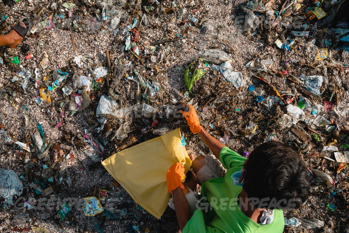 Brand Audit and Waste Audit at Freedom Island