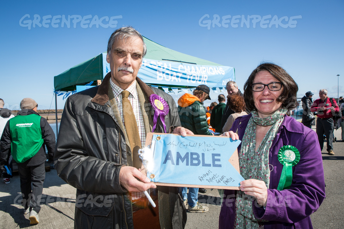 Amble UK Boat Tour Event
