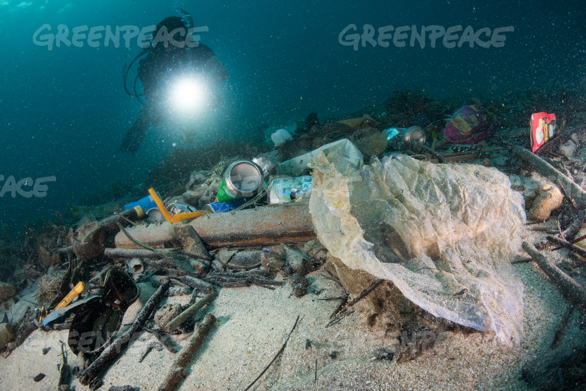 Ocean Plastic Pollution in Phuket Province