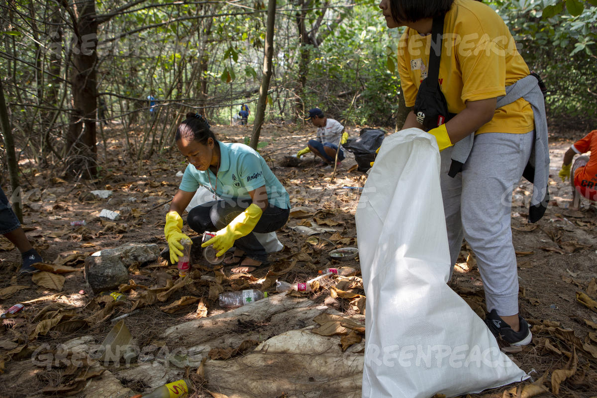 Plastic Brand Audit in Songkhla