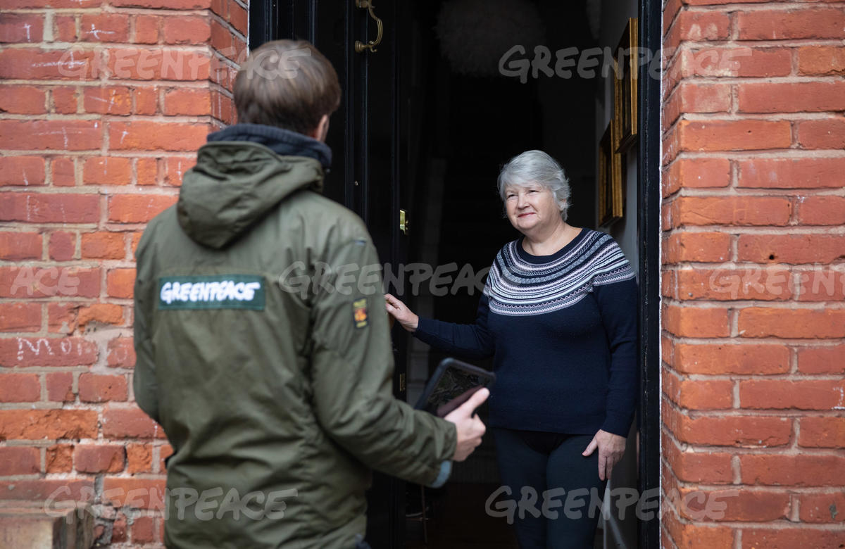 Door to Door Fundraising in London
