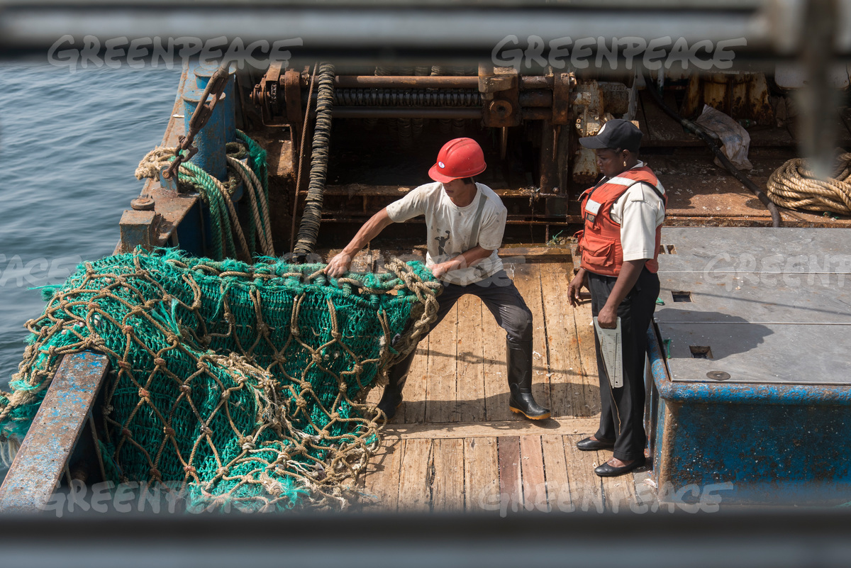 Arrest of Chinese Fishing Vessel in Guinea