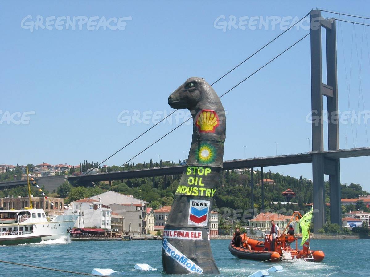 Climate Dinosaur Action in Turkey