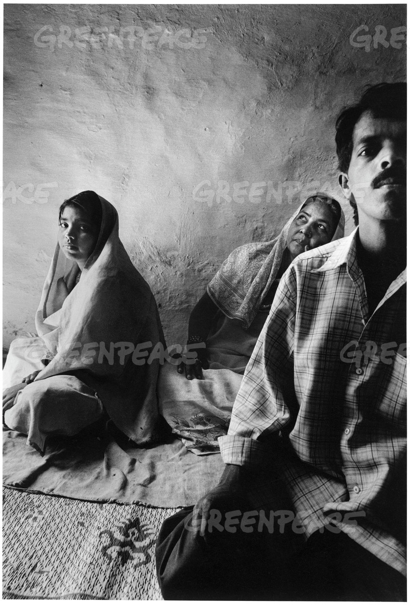 Victim Rubeena's Family in Bhopal