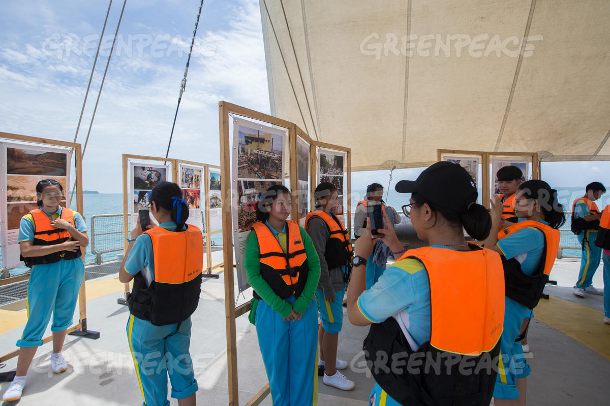 Rainbow Warrior Open Boat in Songkhla