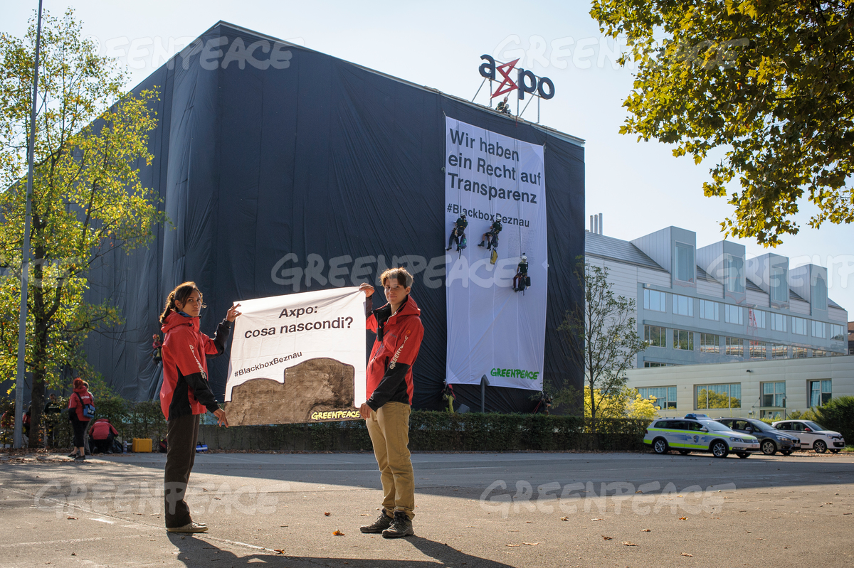 Axpo Headquarters Wrapped up in Baden