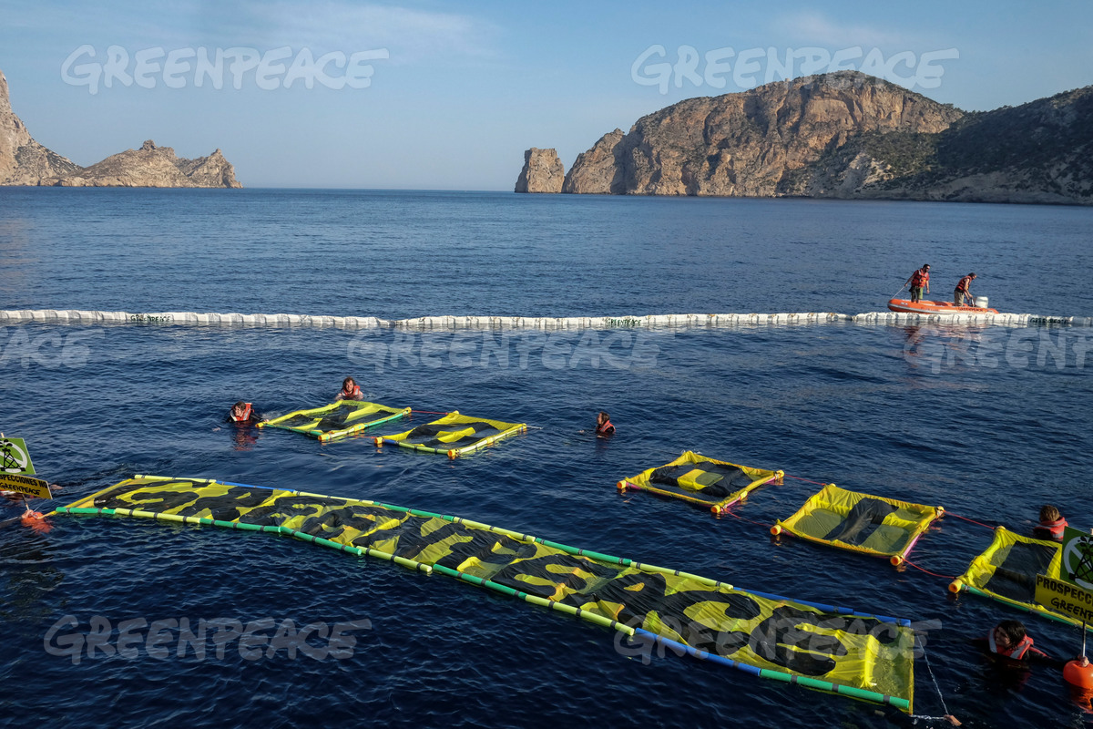 Protest Against Oil Exploration in Ibiza