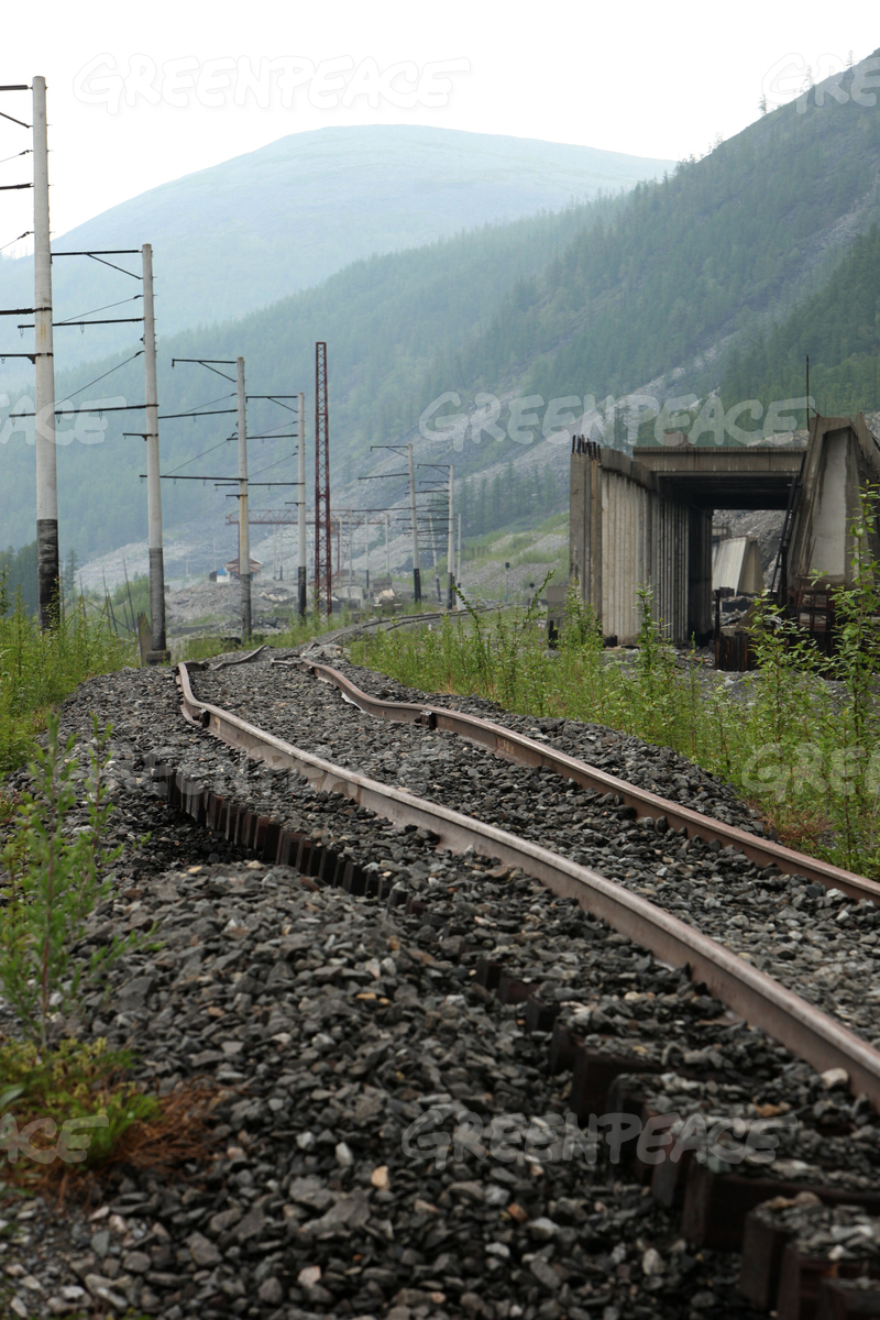 Subsiding Railways in East Russia