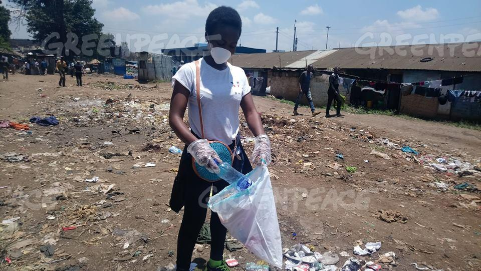 Plastic Clean Up and Brand Audit Activity in Africa