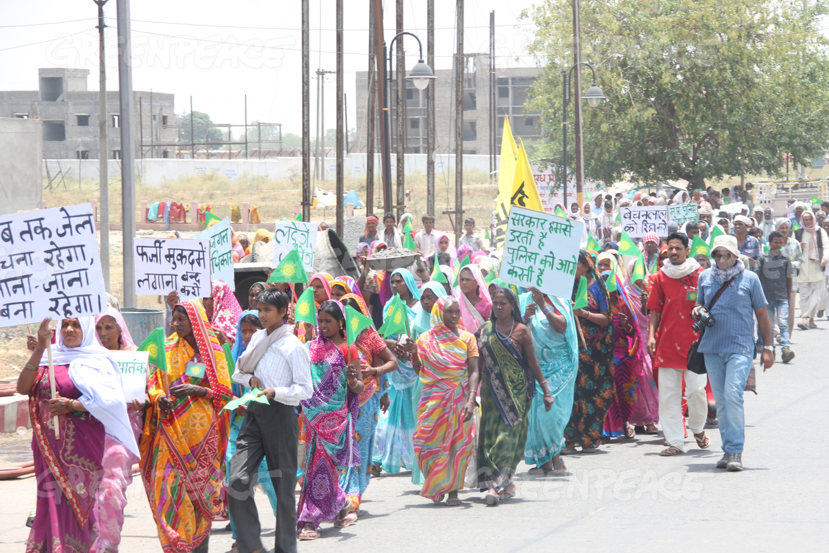 Community Protest against Coal Industry in Mahan Forest