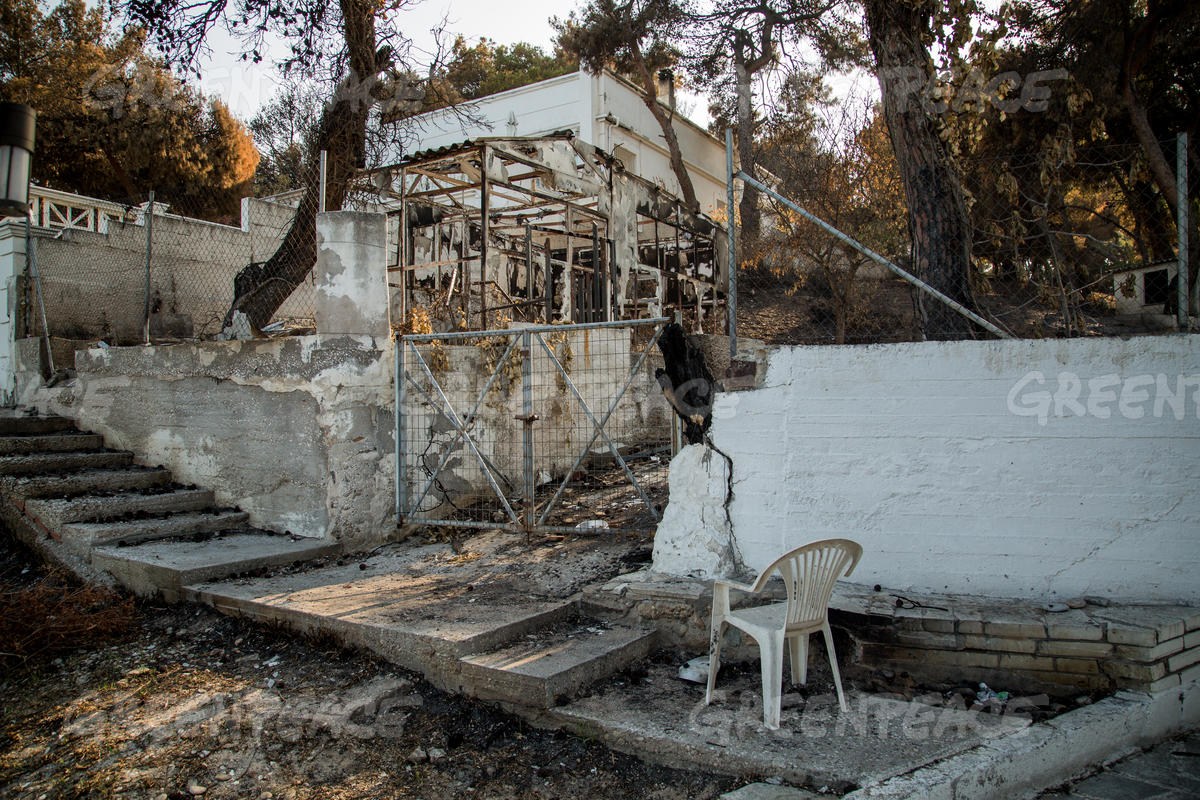 Extreme Heat and Fires in Attica, Greece