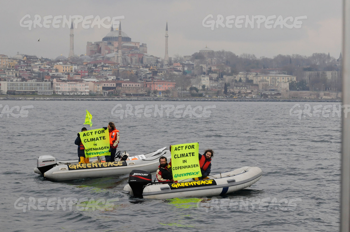 Climate Action at Bosphorus Strait in Turkey