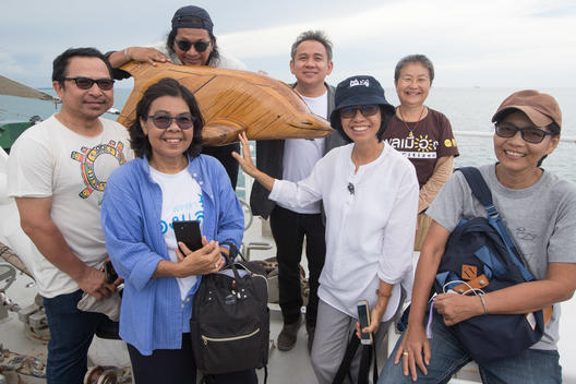 Beach for Life Event on Rainbow Warrior in Songkhla