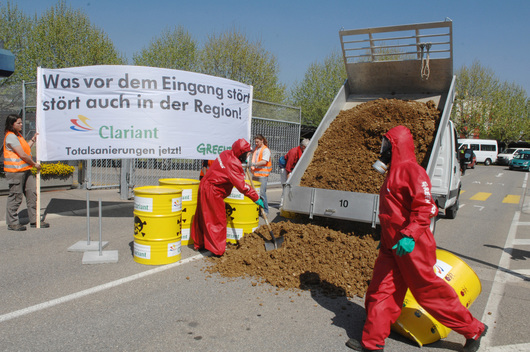 Toxics Action Waste Returned to Sender Clariant