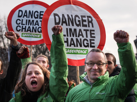 COP21: Climate March in Geneva