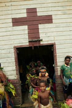 Tavolo Community Church in Papua New Guinea