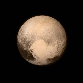 Portrait of Pluto
