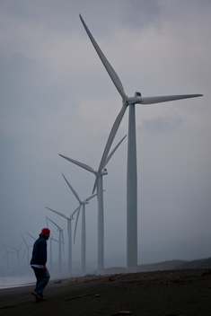 Wind farm in Ilocos Norte