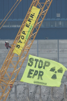 Nuclear Action at Construction Site of Proposed Water Reactor in France