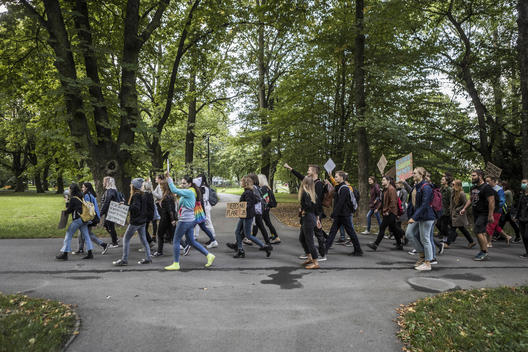 Global Climate Strike in Ostrava