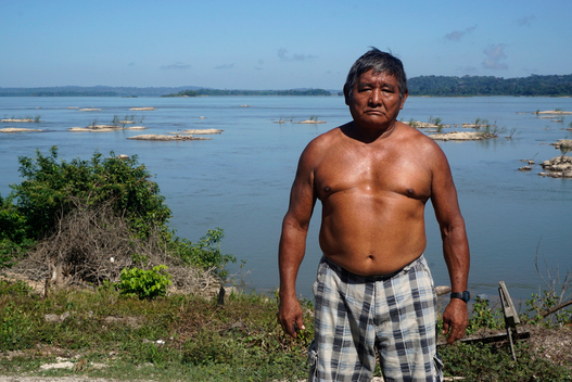 Cacique Tiago Ikõ Munduruku in the Amazon