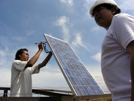 Implementing Solar Power Indonesia