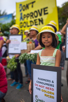 Action at the Department of Agriculture in Quezon City