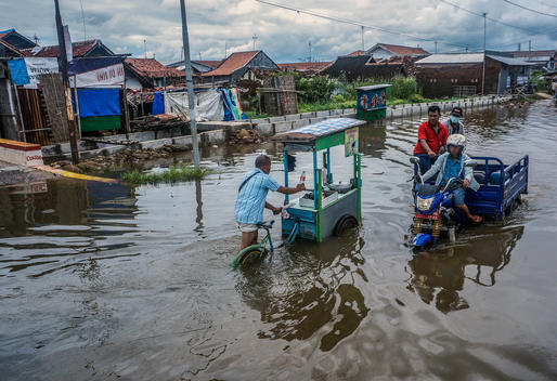 Floods in Pekalongan, Central Java