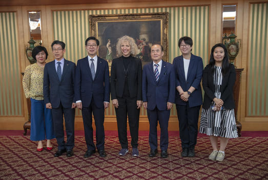 Jennifer Morgan Meets Chungnam Governor and Co-Chair of Green Growth Committee in Seoul