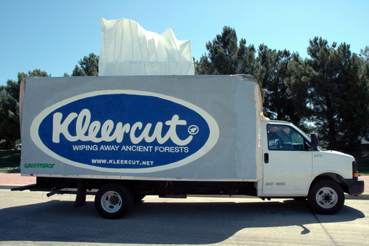 Kleercut Truck at Kimberly-Clark Headquarters