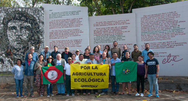 Mayan Community Visits Indio Hatuey Experimental Station in Cuba