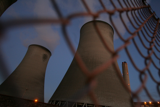 Didcot Coal Power Station in UK