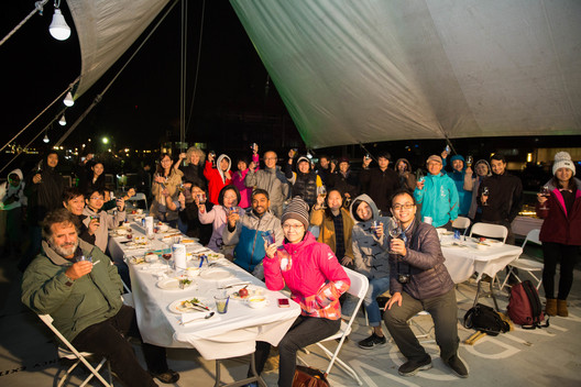Donor Dinner on the Rainbow Warrior in Taiwan