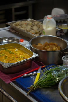 Food Prepared on the Rainbow Warrior during Transit in Australia