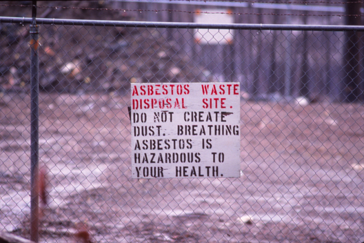 Asbestos Disposal Site